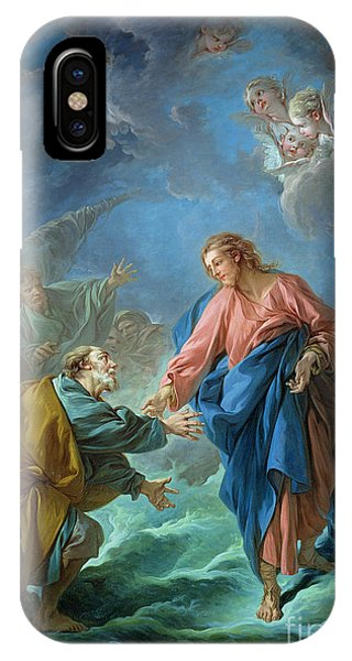 Reach iPhone Case - Saint Peter Invited To Walk On The Water by Francois Boucher