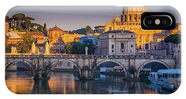 Saint Peters Basilica IPhone Case