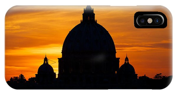 Saint Peters Sunset IPhone Case