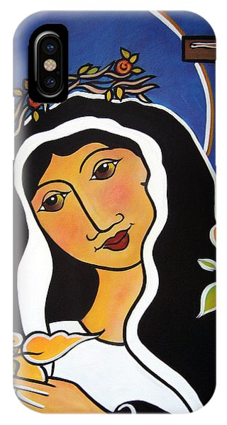 Saint Rita - Patron Of Impossible Causes IPhone Case