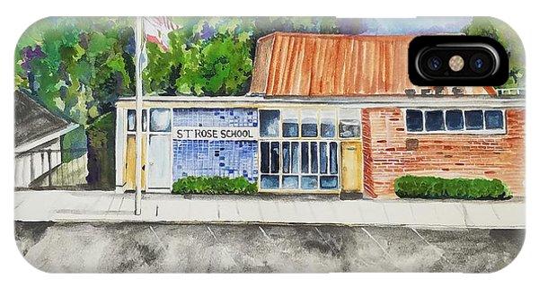 Saint Rose Catholic School IPhone Case