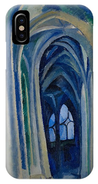 French Painter iPhone Case - Saint-severin by Robert Delaunay