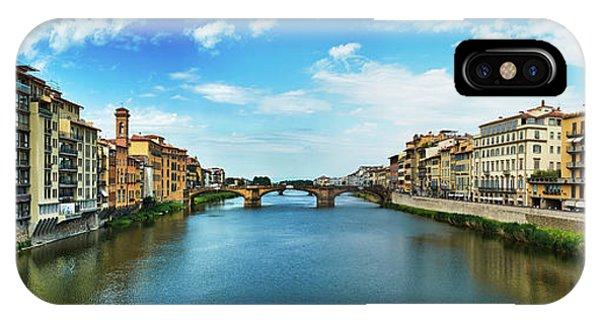 Saint Trinity Bridge From Ponte Vecchio IPhone Case