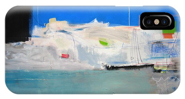 IPhone Case featuring the painting Saint-tropez by Diane Desrochers