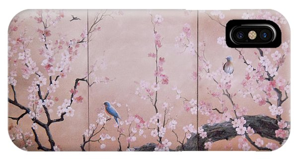 Sakura - Cherry Trees In Bloom IPhone Case