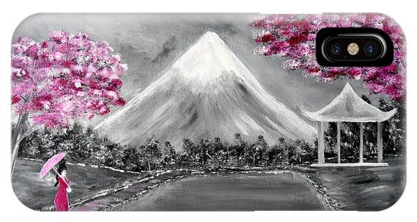 Sakura - Japanese Dreams IPhone Case