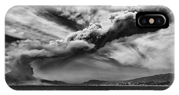 Sakurajima Volcano IPhone Case