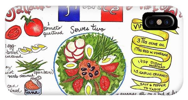 Salade Nicoise IPhone Case