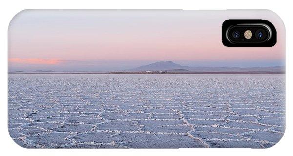 Salar De Uyuni No. 3-1 IPhone Case