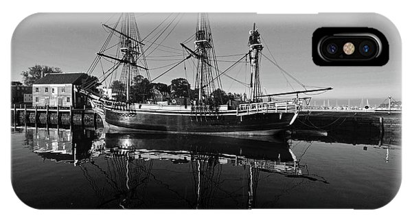 Salem Friendship Reflection Black And White IPhone Case