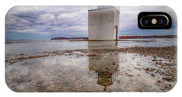 Salem Harbor High Tide IPhone Case