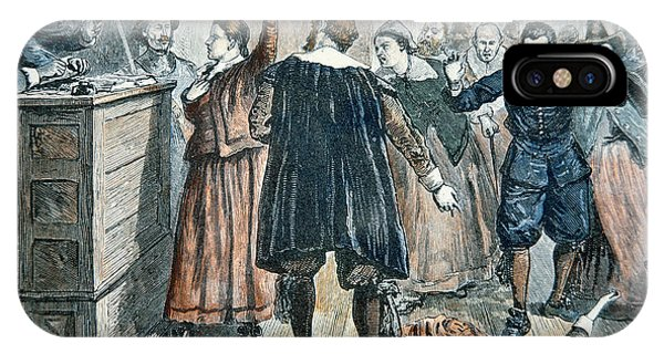 Trial iPhone Case - Salem Witch Trials by American School