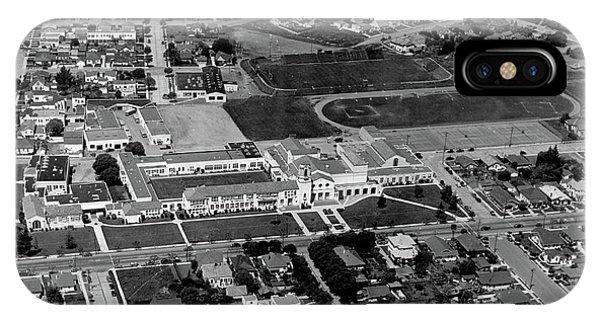 Salinas High School 726 S. Main Street, Salinas Circa 1950 IPhone Case