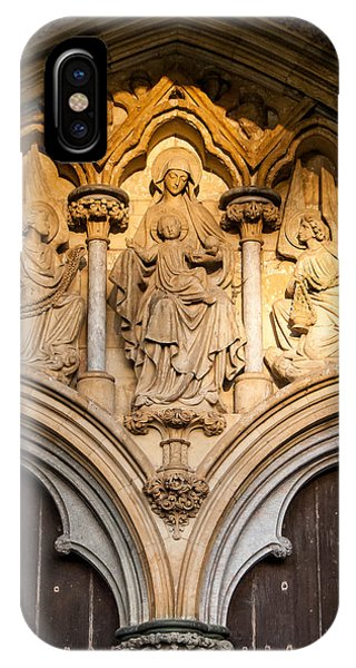 Salisbury Cathedral Doors IPhone Case