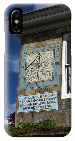 Salisbury Sundial IPhone Case