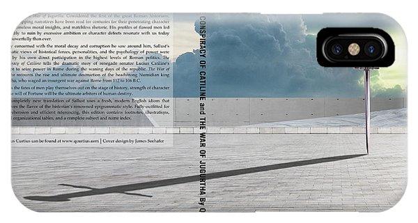 iPhone Case - Sallust Cover by Quintus Curtius