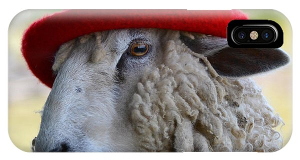 Sally The Sheep IPhone Case