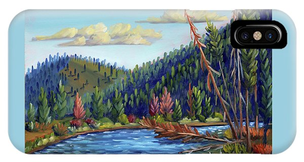 Salmon River - Stanley IPhone Case