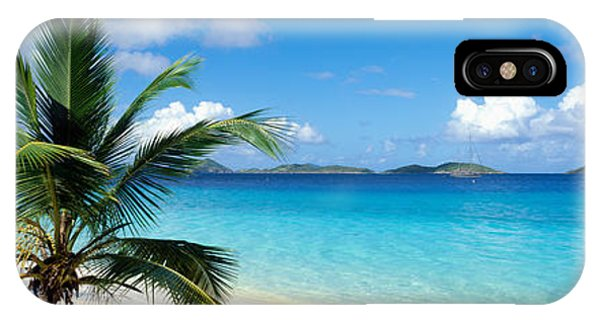 Oceanfront iPhone Case - Salomon Beach Us Virgin Islands by Panoramic Images