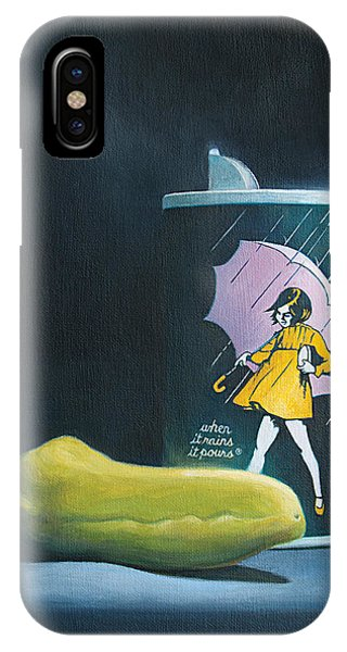 IPhone Case featuring the painting Salt And Pepper by Joe Winkler