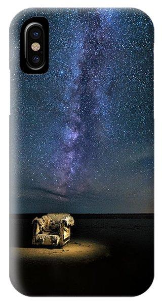 Salt Flats Milky Way Chair IPhone Case