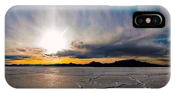 Salt Flats Sunset IPhone Case