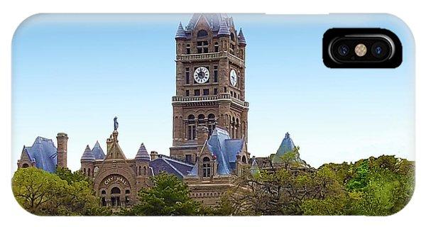 Salt Lake City Hall IPhone Case