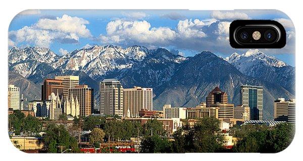 Salt Lake City IPhone Case