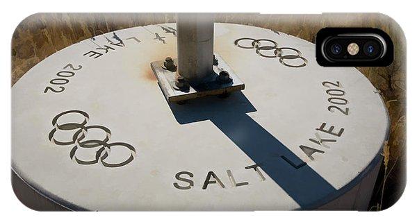 Salt Lake Olympics 2002 IPhone Case