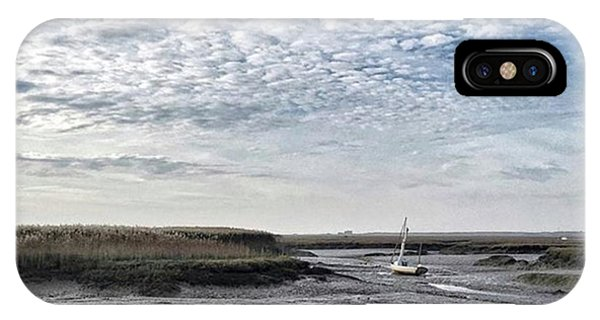 Salt Marsh And Creek, Brancaster IPhone Case