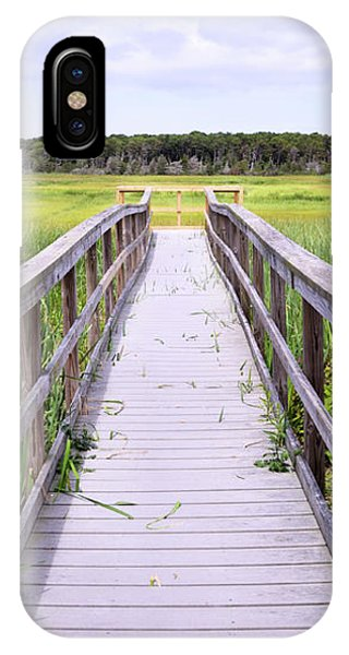 Tidal Marsh iPhone Case - Salt Marsh Boardwalk by Luke Moore