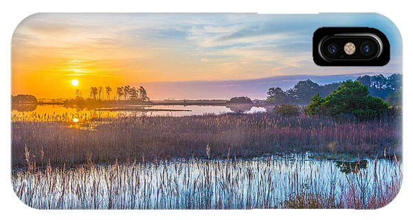Salt Marsh Sunrise II IPhone Case
