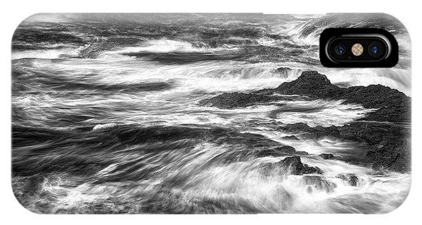 Salt Water iPhone Case - Salt Point Chaos by Jon Glaser