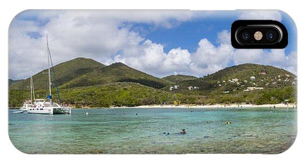 Catamaran iPhone Case - Salt Pond Bay Panoramic by Adam Romanowicz