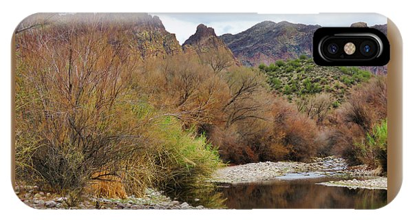 Salt River Pebble Beach IPhone Case