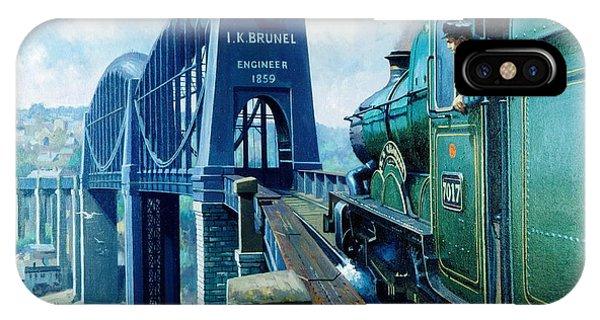 Bridge iPhone Case - Saltash Bridge. by Mike Jeffries