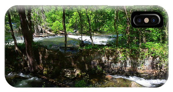 IPhone Case featuring the photograph Saluda River Columbia Sc by Lisa Wooten