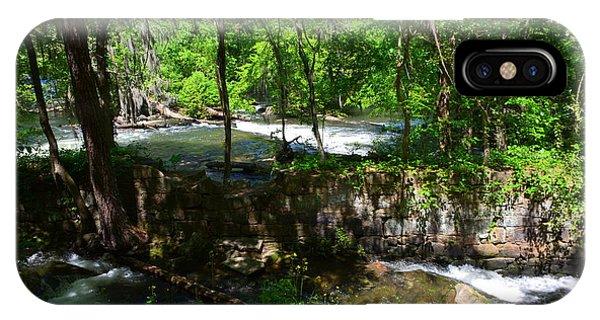Saluda River Columbia Sc IPhone Case