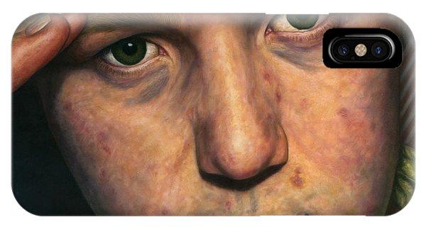 Closeup iPhone Case - Salute by James W Johnson