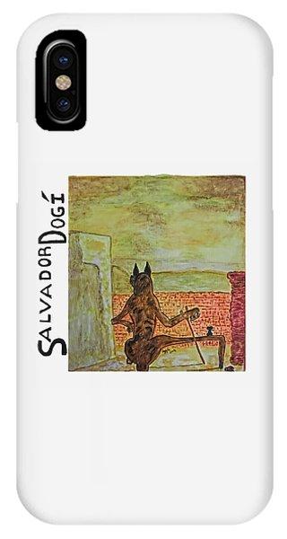 Salvador Dogi IPhone Case