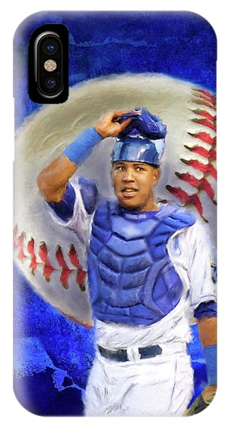 Salvador Perez-kc Royals IPhone Case