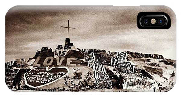 Fineart iPhone Case - Salvation Mountain. This Is Located by Alex Snay