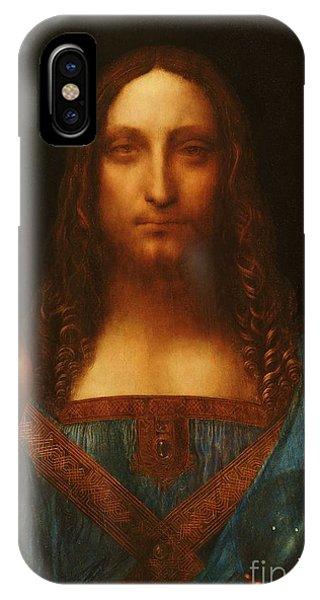Salvator Mundi IPhone Case