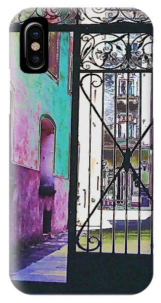 IPhone Case featuring the photograph Salzburg Gate by Kate Word