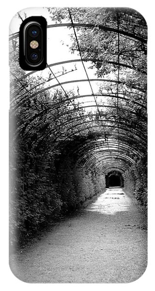 Palace iPhone X Case - Salzburg Vine Tunnel - By Linda Woods by Linda Woods