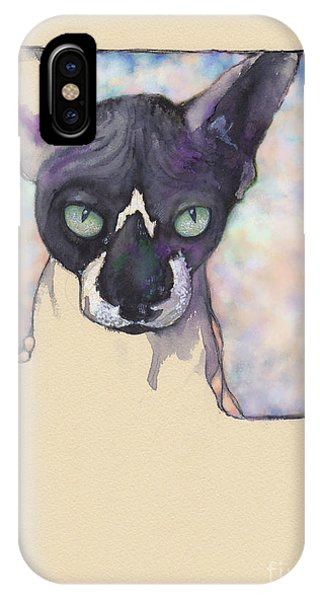 Sam The Sphynx IPhone Case