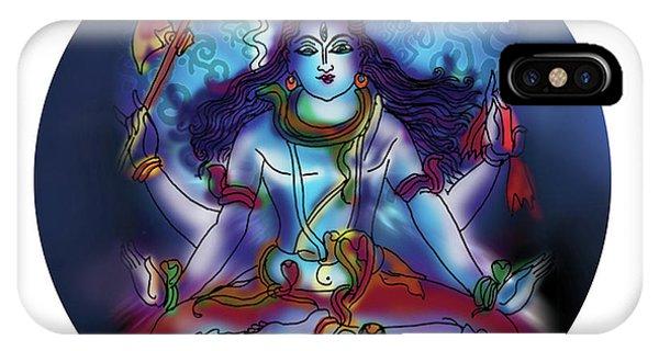 Samadhi Shiva IPhone Case