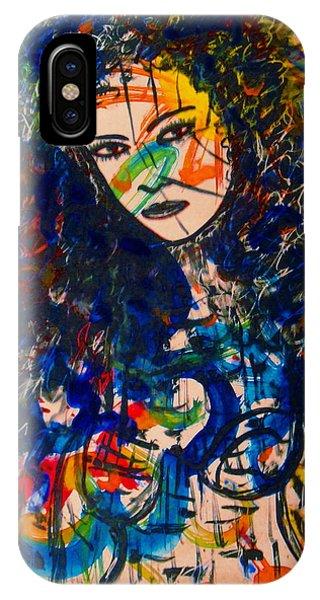Samantha iPhone Case - Samanthaa by Natalie Holland