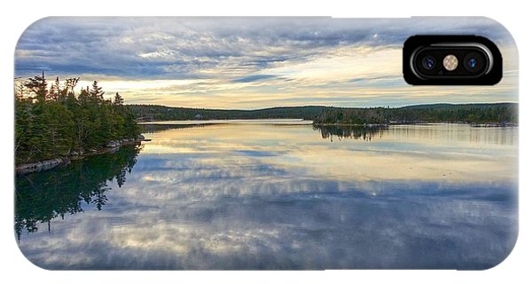 Sambro Basin I Nova Scotia IPhone Case