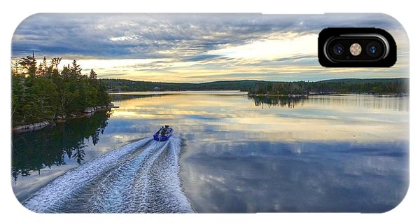 Sambro Basin II Nova Scotia IPhone Case